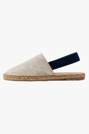 Morkas Shoes Beige Textile Mules - Product Mini Image