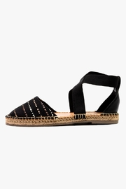 Morkas Shoes Black Cross Espadrille - Product Mini Image