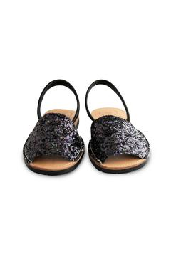 Morkas Shoes Black Glitter Avarca - Alternate List Image