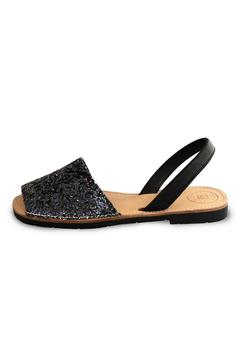 Shoptiques Product: Black Glitter Avarca