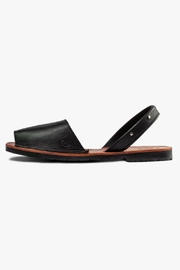 Morkas Shoes Black Leather Sandal - Product Mini Image