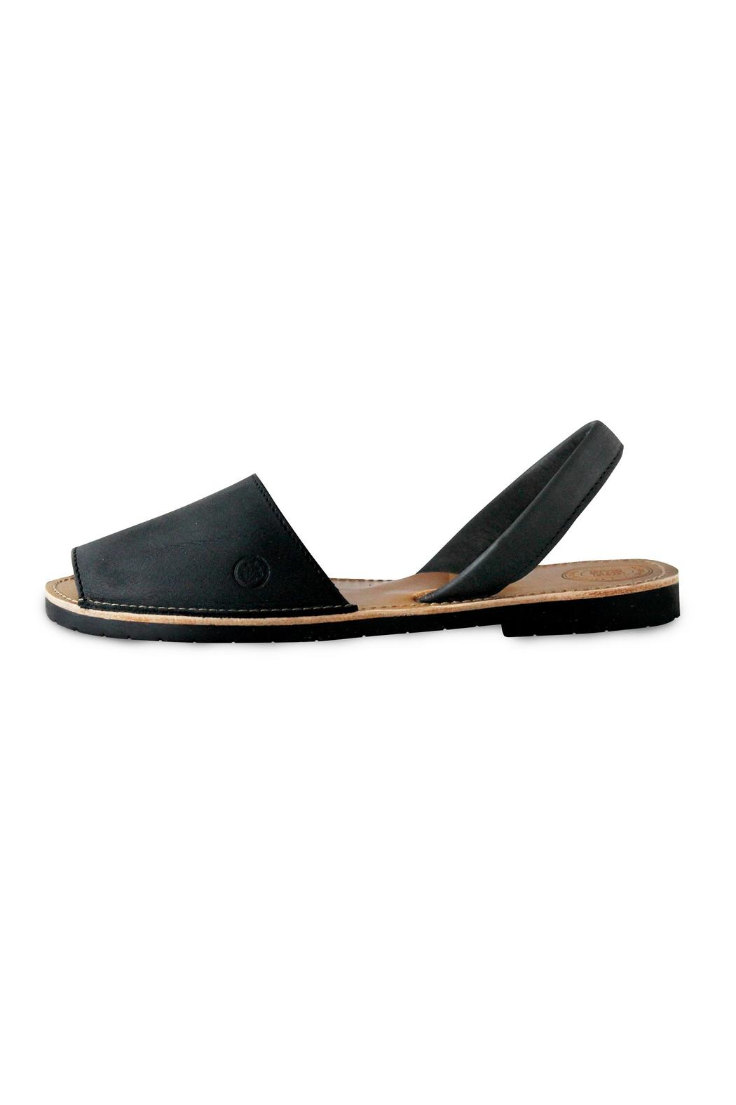 Morkas Shoes Black Midnight Avarca - Front Cropped Image
