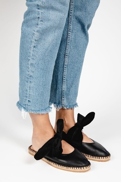 Morkas Shoes Bow Espadrille Leather - Product List Image