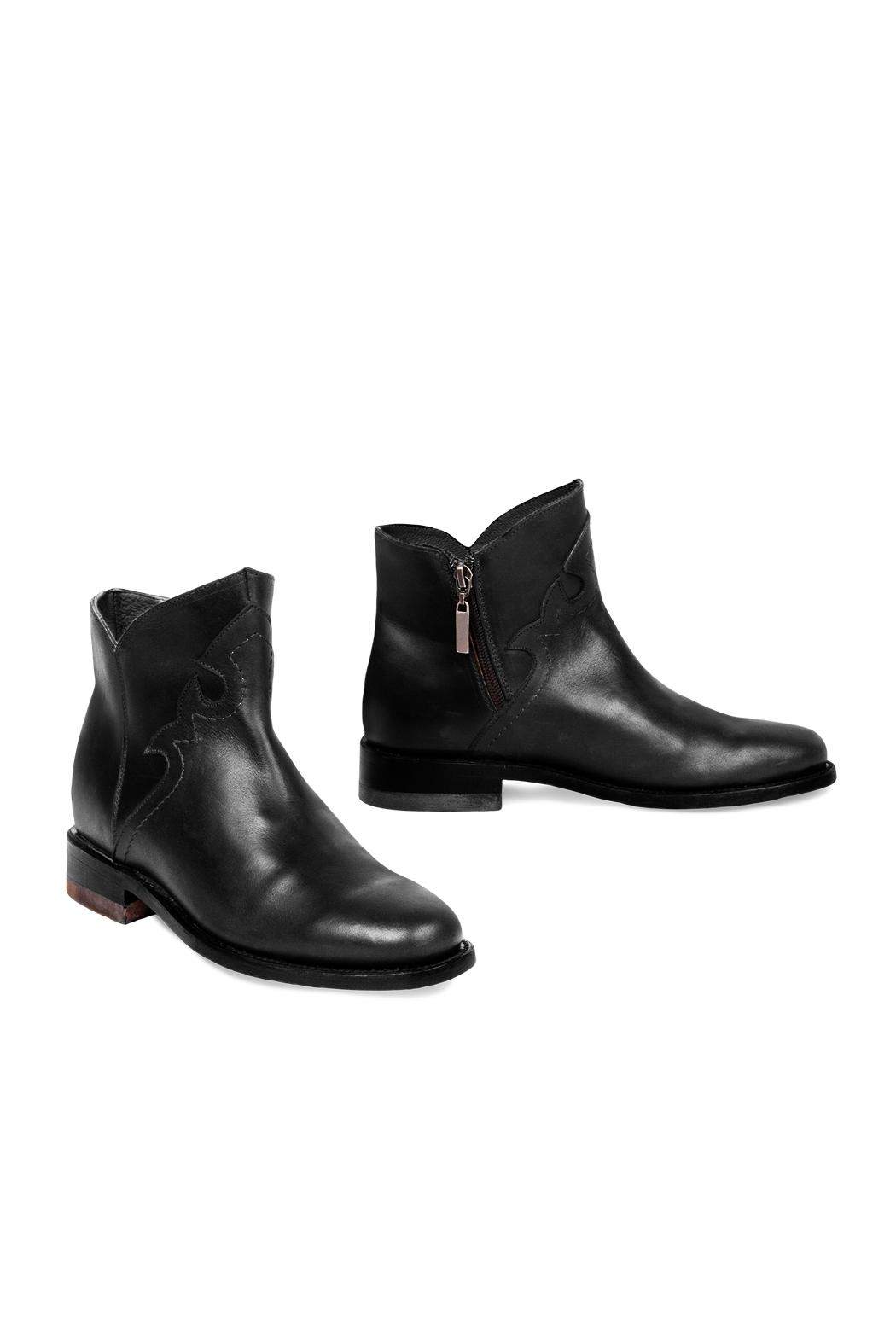 Morkas Shoes British Black - Front Full Image