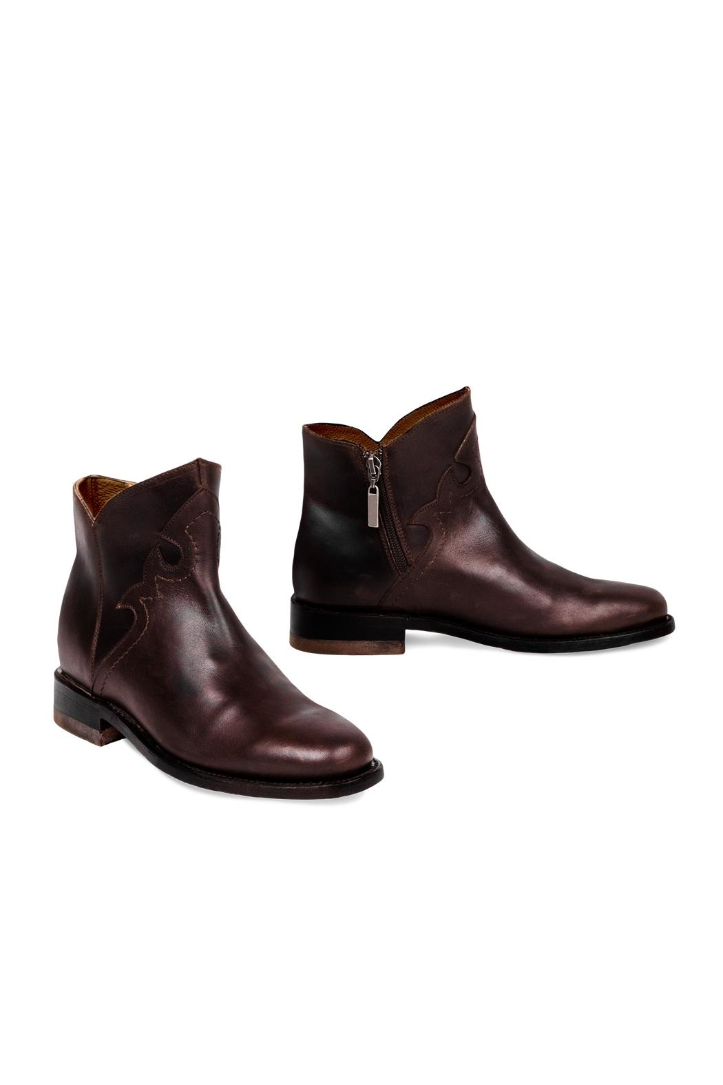 Morkas Shoes British Wine - Front Full Image