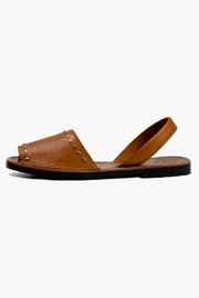 Morkas Shoes Camel Leather Sandal - Product Mini Image