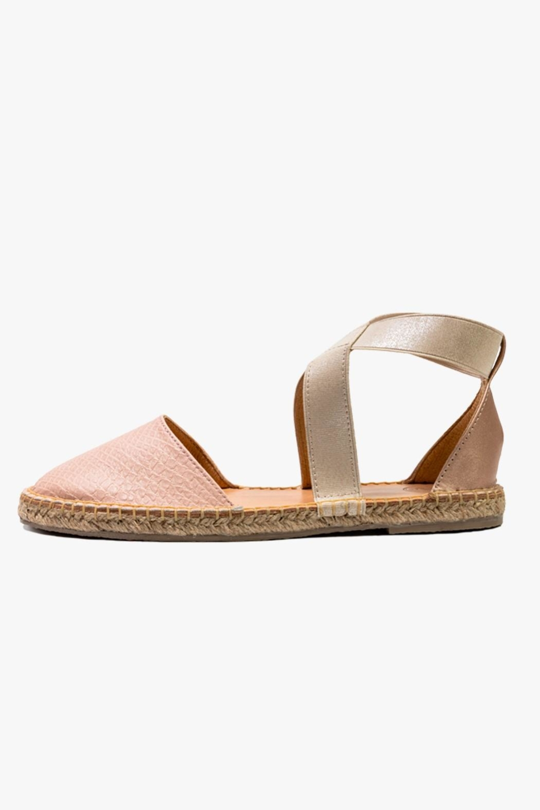 Morkas Shoes Cross Pink Espadrille - Main Image