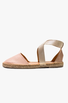 Morkas Shoes Cross Pink Espadrille - Product List Image