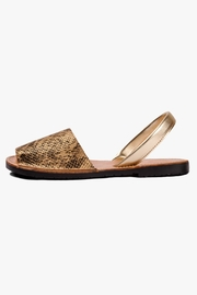 Morkas Shoes Earth Synthetic Sandal - Front cropped