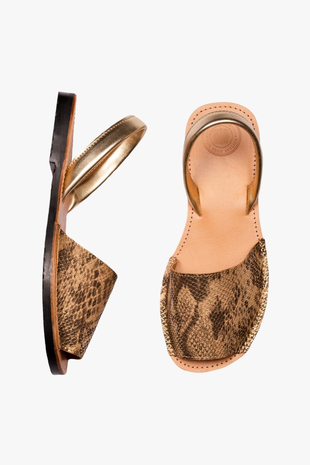 Morkas Shoes Earth Synthetic Sandal - Front Full Image