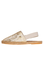 Morkas Shoes Elastic Mules Cream - Front cropped