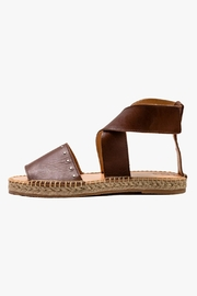 Morkas Shoes Emperador Leather Ankle Strap Espadrille - Product Mini Image