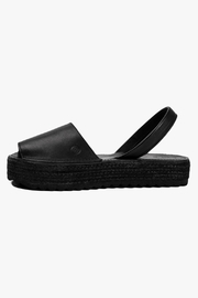 Morkas Shoes Espadrille Up All Black - Product Mini Image