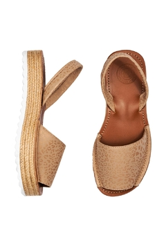 Morkas Shoes Espadrille Up Leopard - Alternate List Image