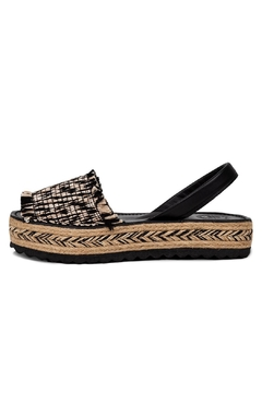 Morkas Shoes Espadrille Up Oreo - Product List Image