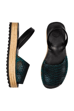 Morkas Shoes Espadrille Up Pitone - Alternate List Image