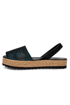 Morkas Shoes Espadrille Up Pitone - Product List Image