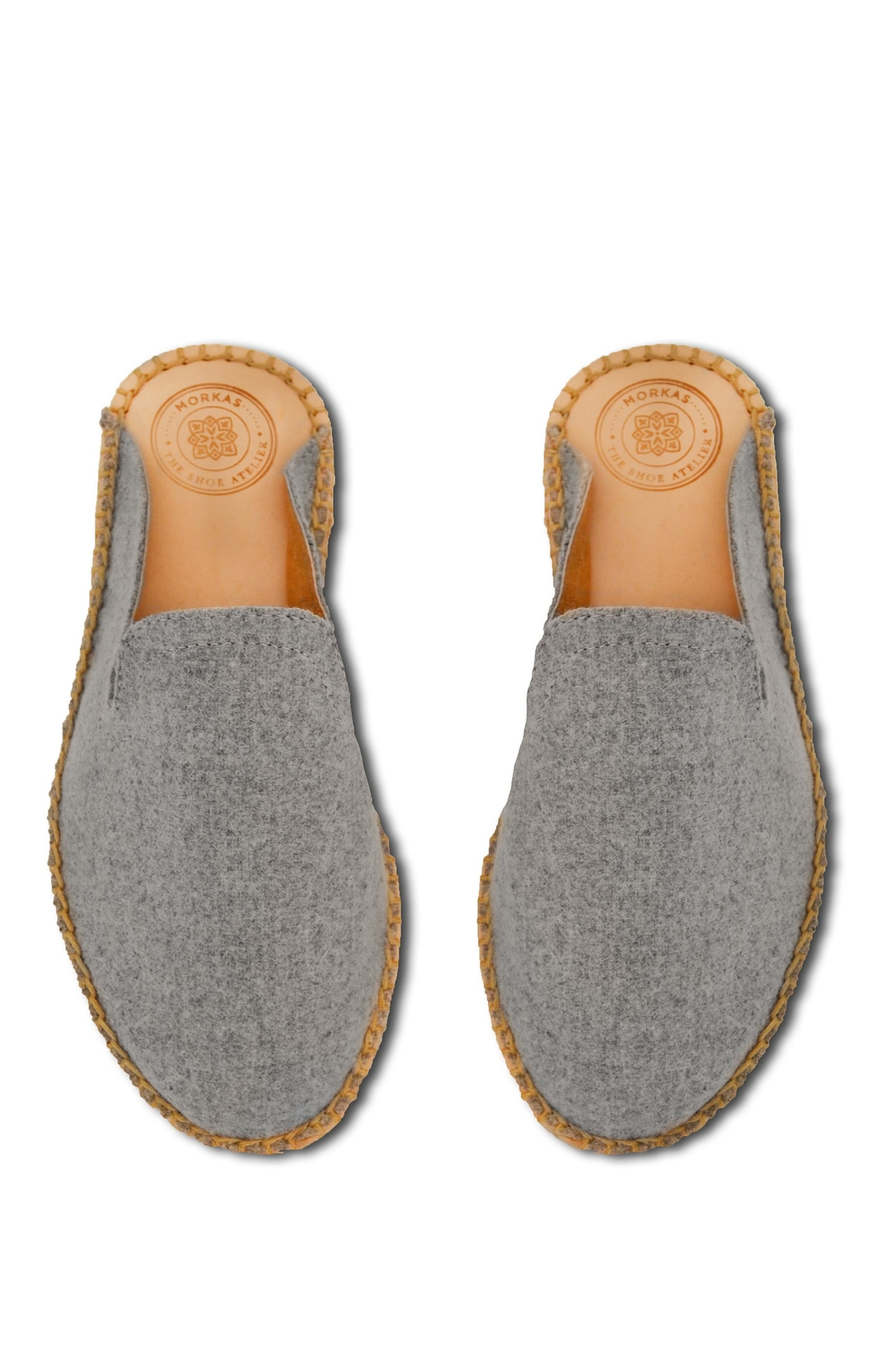 Morkas Shoes Hand-Knitted Mules - Front Full Image