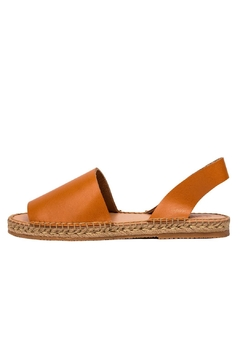 Morkas Shoes Hand Sewn Camel Espadrilles - Product List Image