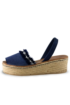 Morkas Shoes Indigo Avarca Espadrille - Alternate List Image