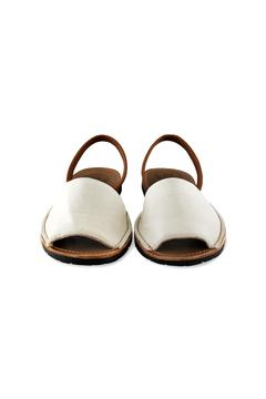 Morkas Shoes Ivory Leather Avarca - Alternate List Image