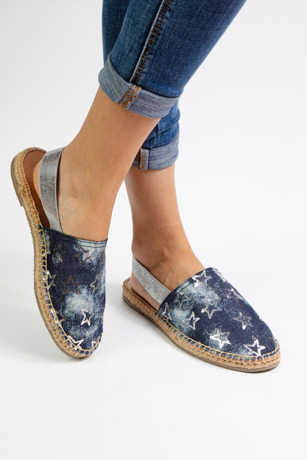 Morkas Shoes Jeans Mules - Side Cropped Image
