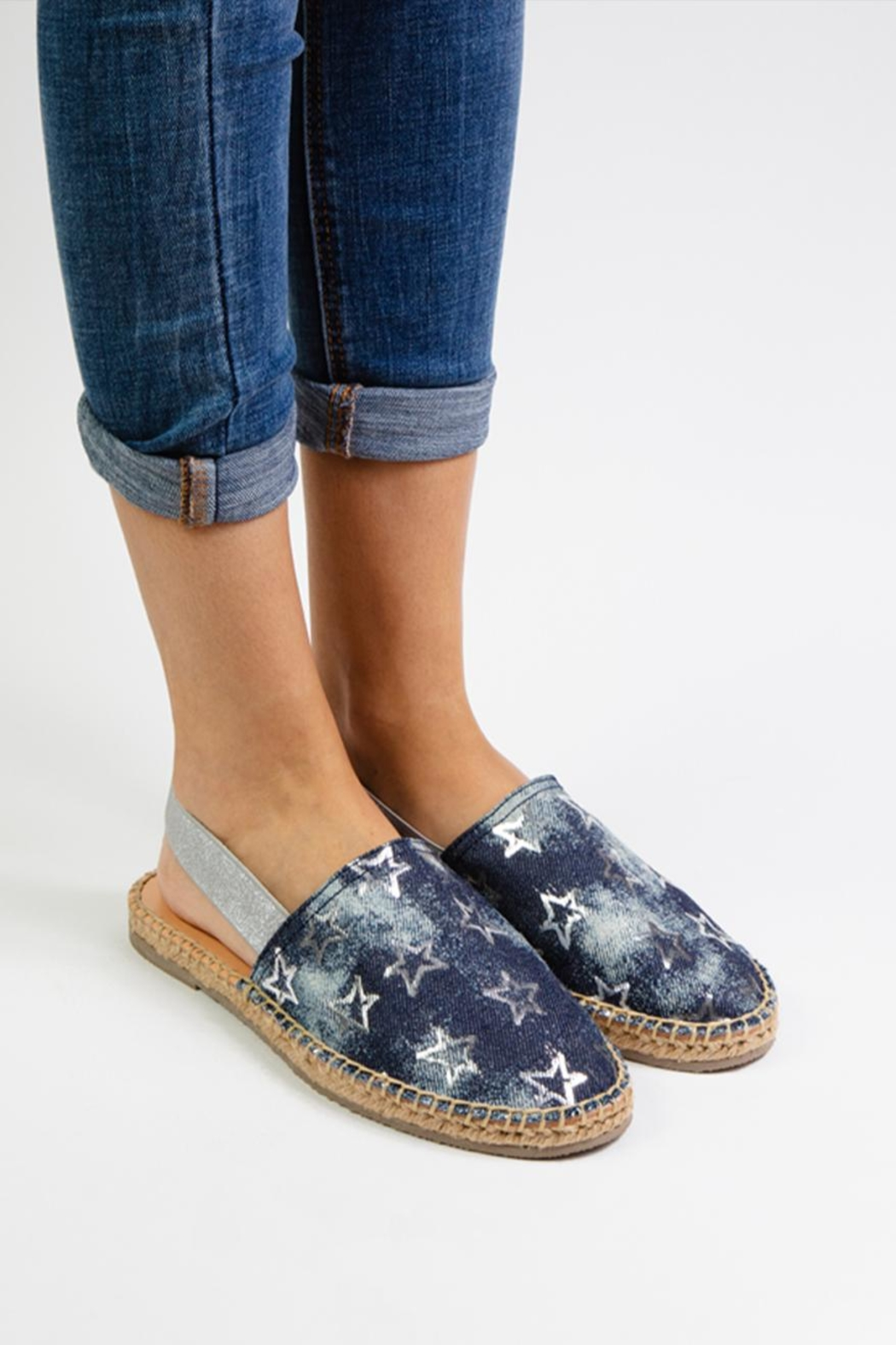 Morkas Shoes Jeans Mules - Front Full Image