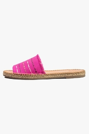 Morkas Shoes Magenta Slide Espadrille - Product Mini Image