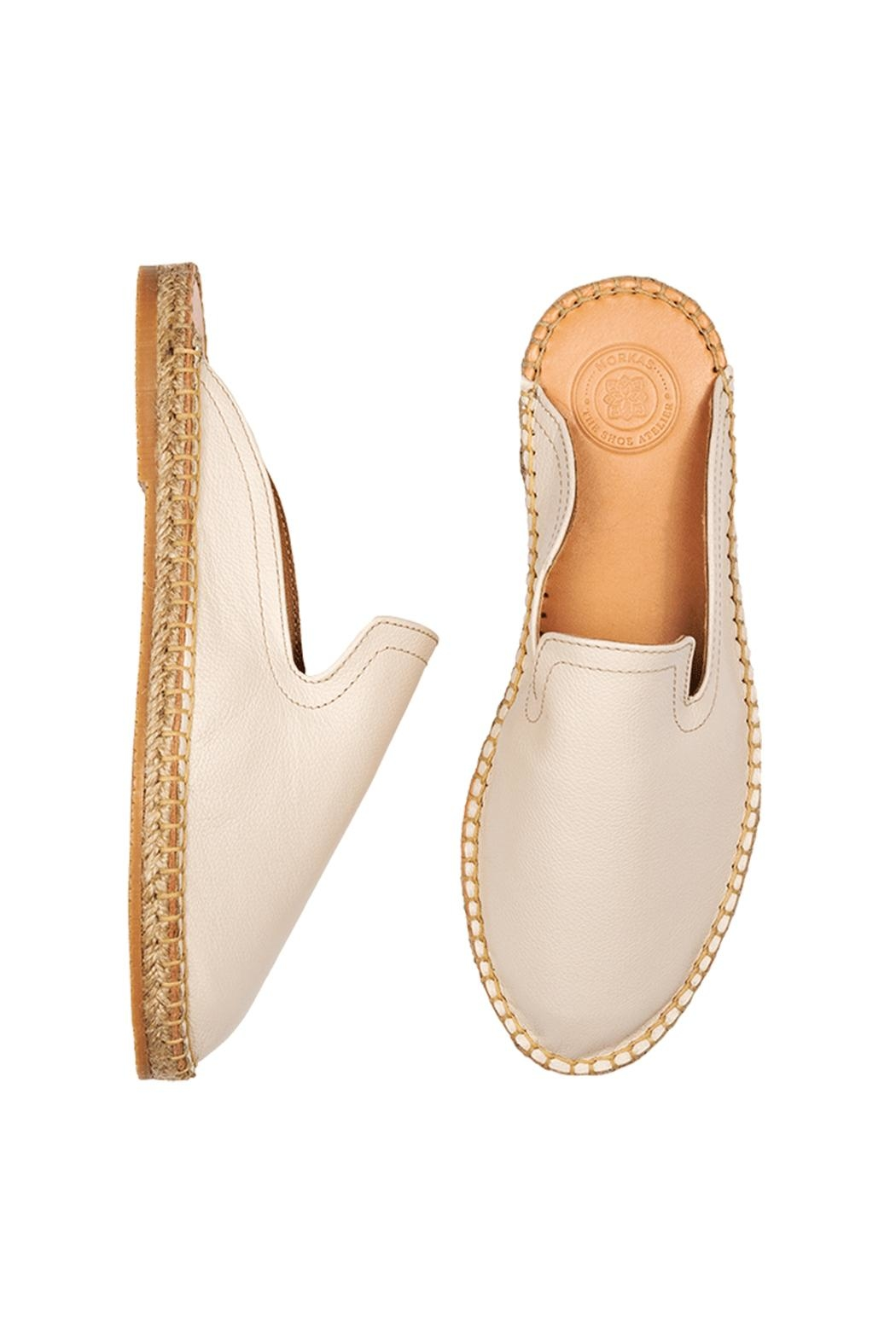 Morkas Shoes Mules Light Snow - Front Full Image