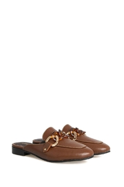 Morkas Shoes Mules Perth Macchiato - Front cropped