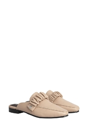 Morkas Shoes Mules Sydney Cappuccino - Front full body