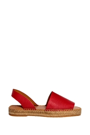 Morkas Shoes Red Leather Sandal - Product Mini Image