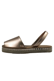 Morkas Shoes Rose Gold Avarca Espadrille - Product Mini Image