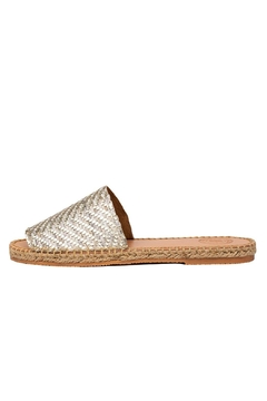 Shoptiques Product: Slides Gold