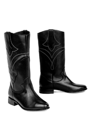 Morkas Shoes Westbound Black - Front full body