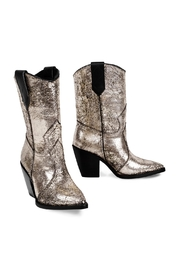 Morkas Shoes Western Metallic - Front full body