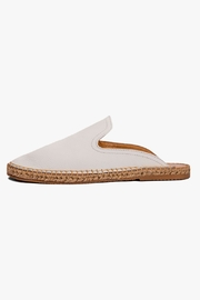 Morkas Shoes White Leather Mules - Product Mini Image
