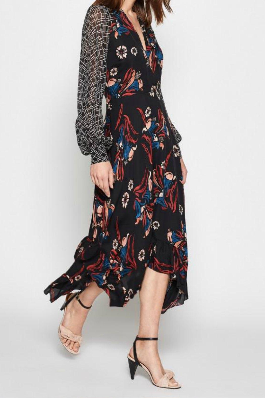 Joie Morley Silk Dress - Front Cropped Image