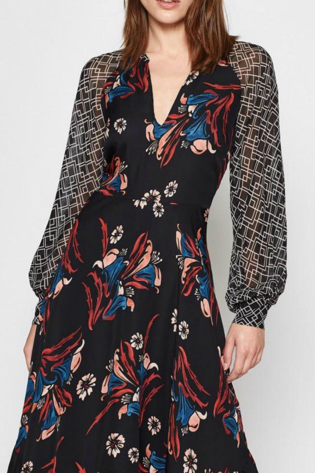 Joie Morley Silk Dress - Side Cropped Image