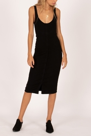 AMUSE SOCIETY Morning Market Midi Dress - Front cropped