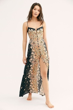 Free People Morning Song Printed-Maxi - Product List Image