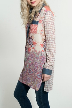 Smash  Morocan Print Blouse - Alternate List Image