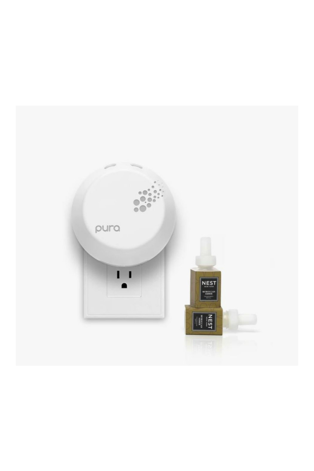 Nest Fragrances Moroccan Amber Refill Duo for Pura Smart Home Fragrance Diffuser - Front Full Image