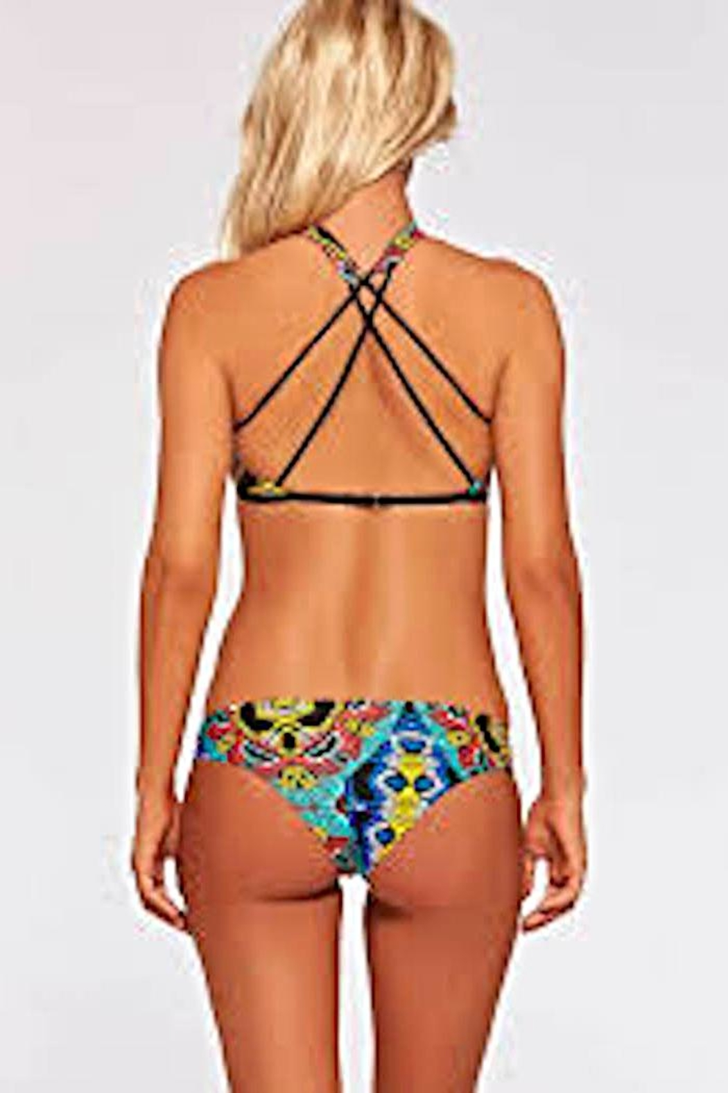L SPACE Moroccan Dream Halter - Front Full Image