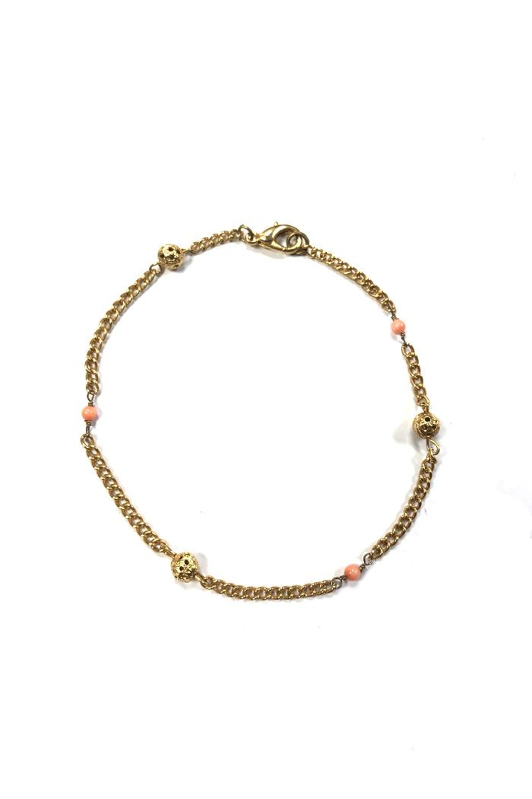 Lets Accessorize Moroccan Inspired Anklet - Main Image