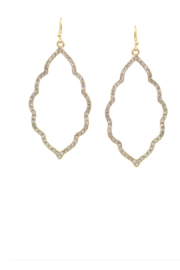 US Jewelry House Moroccan Shape Hoop Earrings - Product Mini Image