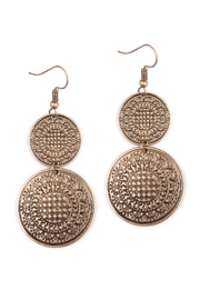 Riah Fashion Moroccan Vintage Earrings - Product Mini Image