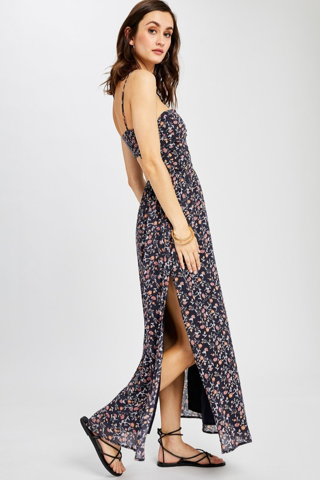 Gentle Fawn Morocco Maxi Dress - Front Cropped Image