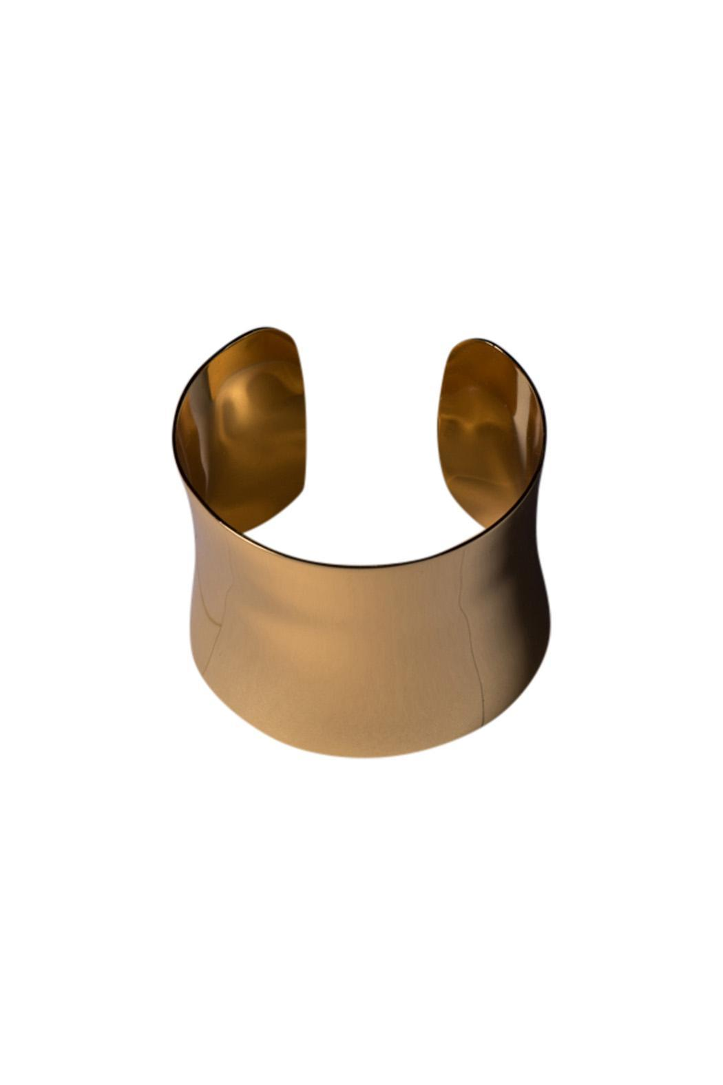 Morra Gold Plated Cuff - Main Image