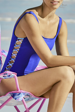 Lilly Pulitzer Morri Squareneck Swimsuit - Product List Image